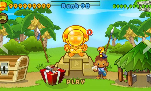 Gameplay Aplikasi Bloons TD 5